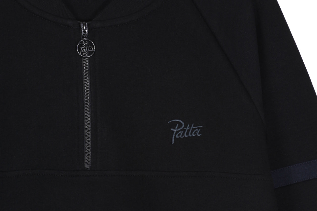 Patta Half Zip Crewneck Sweater