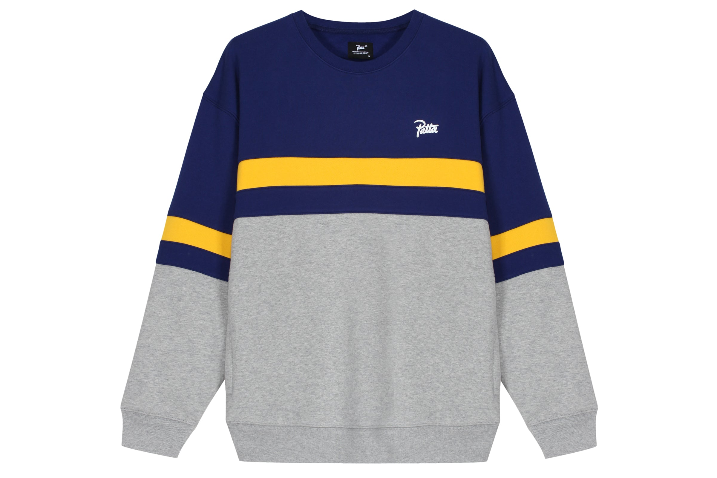 Patta Panel Crewneck Sweater