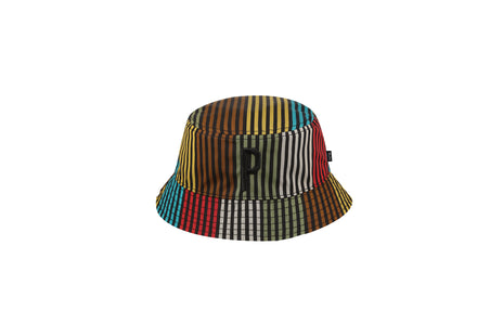 Patta Dub Stripe Reversible Bucket Hat