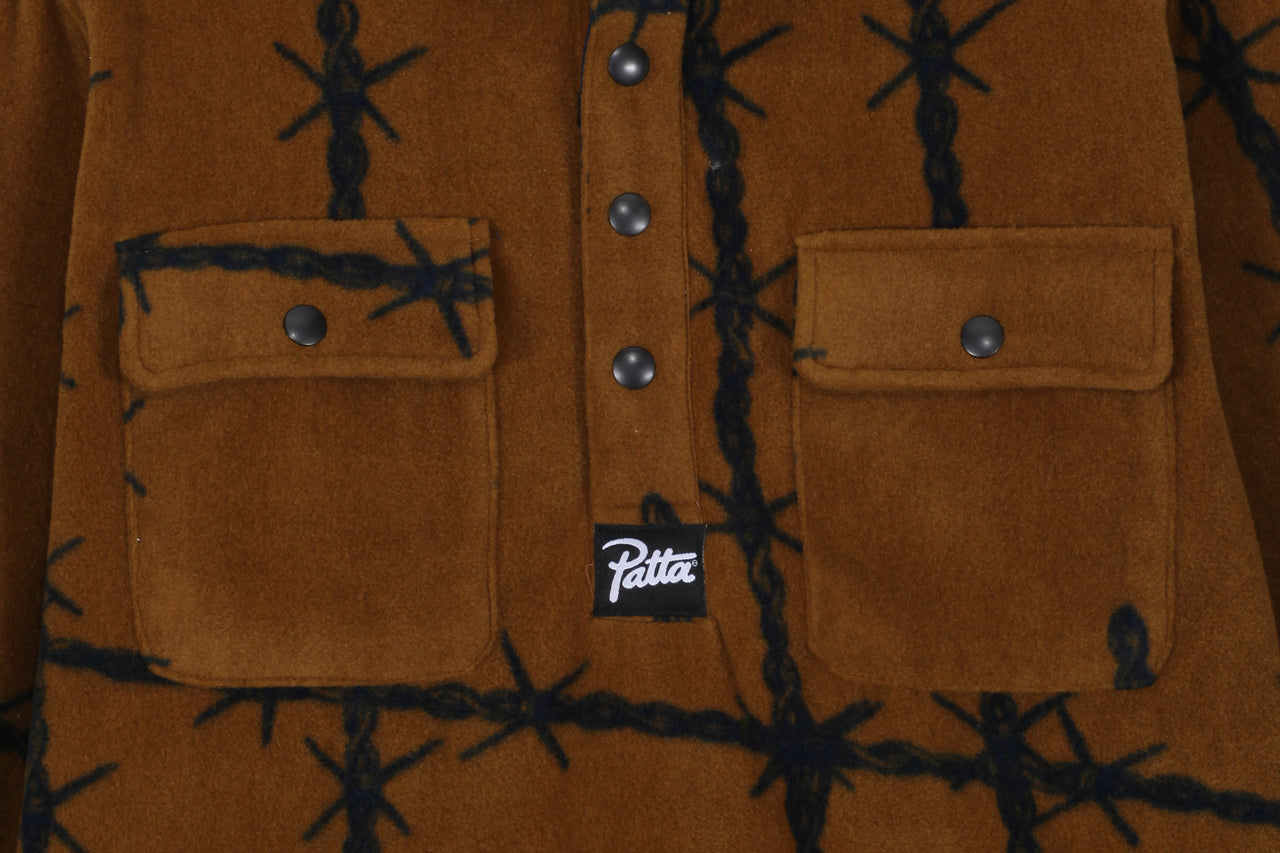 Patta Wire Fleece Overhead Shirt