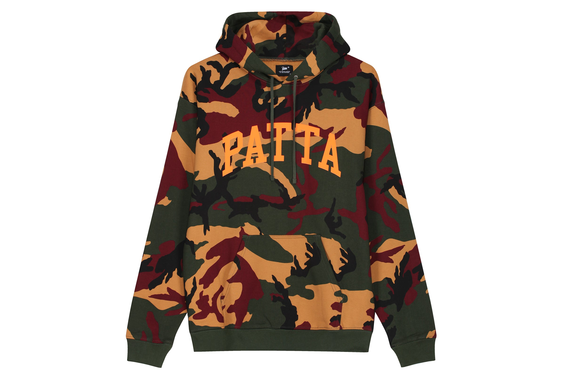 Patta Arc Logo Hooded Sweater