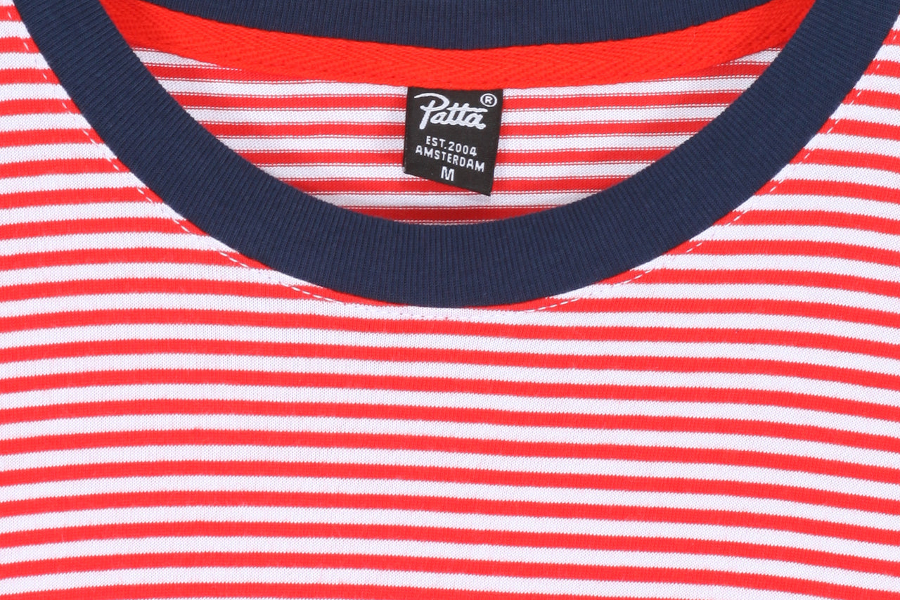 Patta City Knitted Stripe Tee