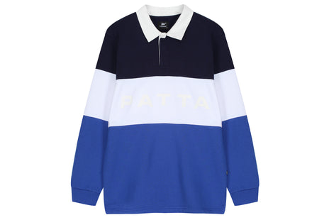 Patta Puff Print Polo Sweater