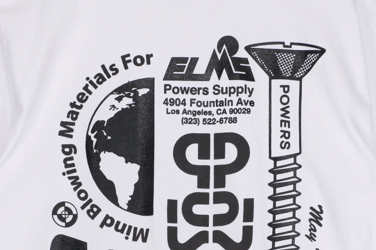Powers Stacked Lockup Tee