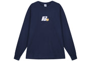 Powers Flower Logo LS Tee