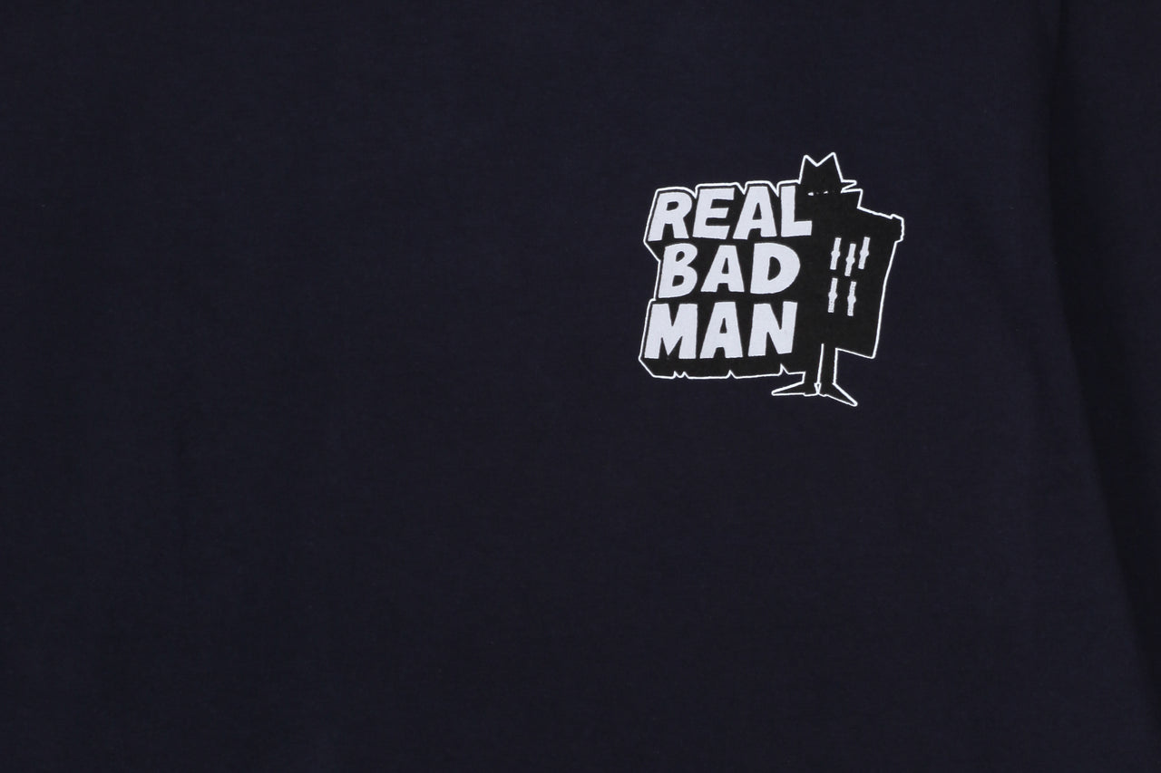 Real Bad Man RBM Logo Vol. 4 TD LS Tee