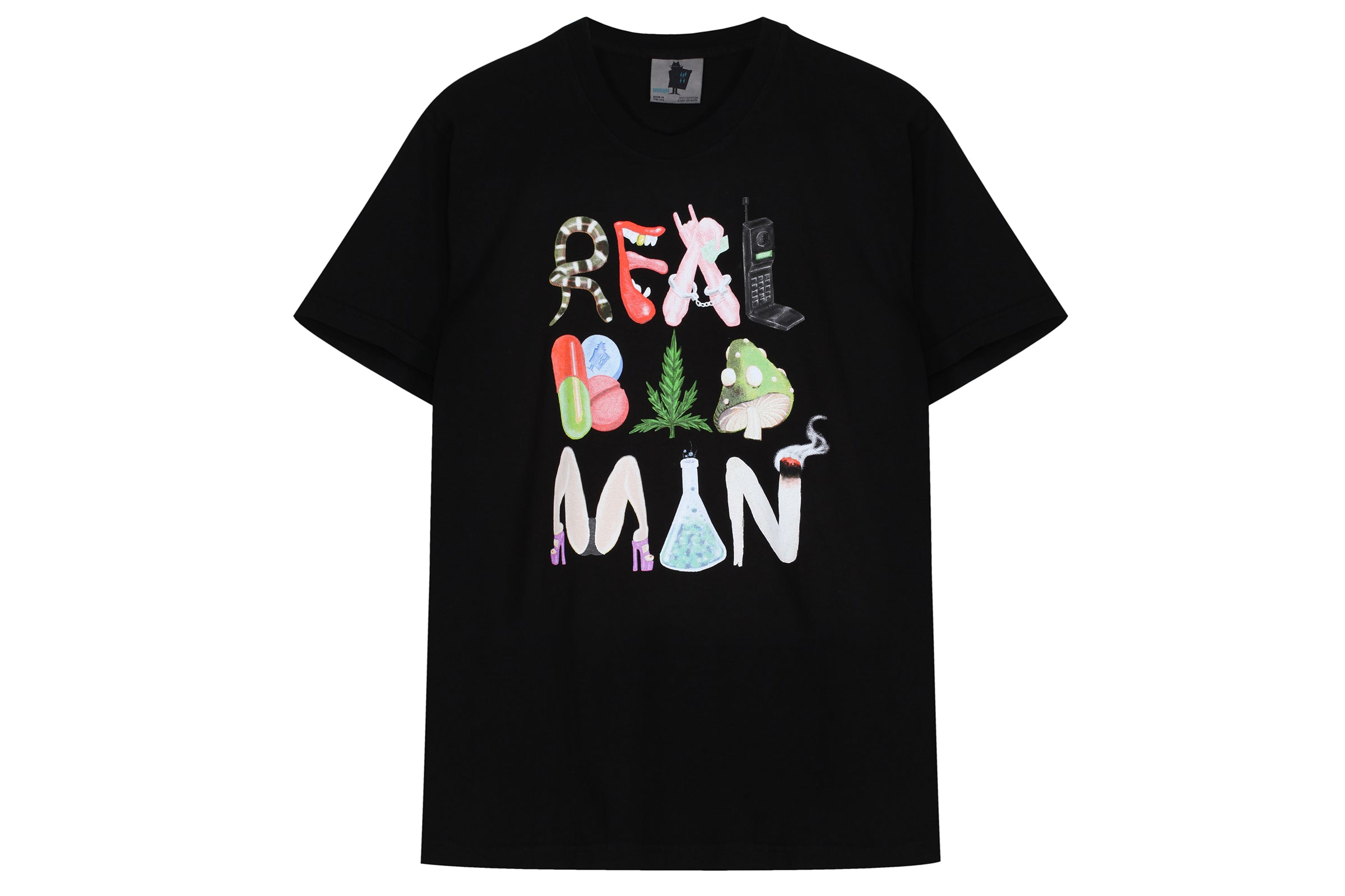 Real Bad Man Mad Vices Tee