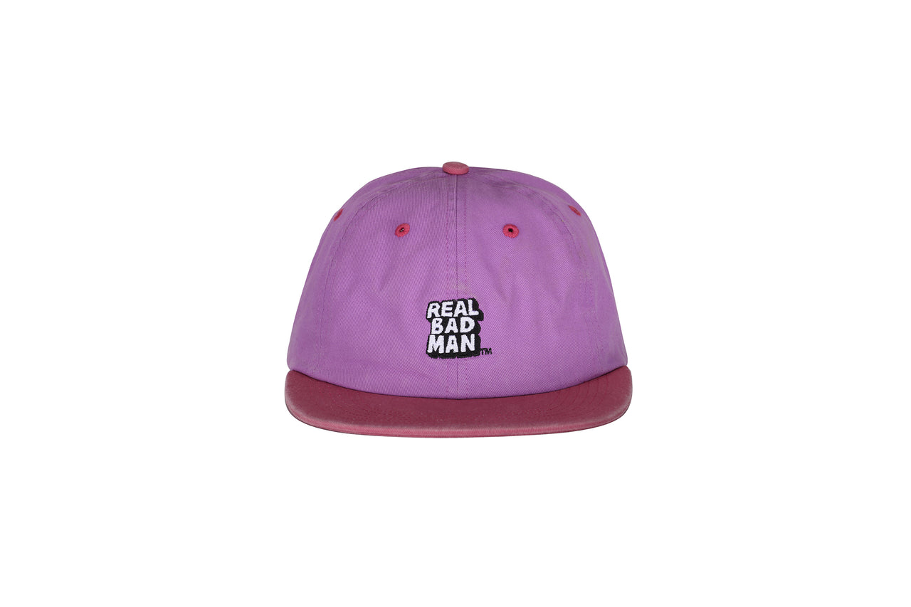 Real Bad Man Washed Out 6 Panel Cap