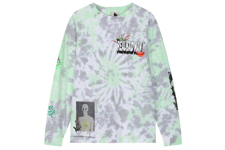 Real Bad Man From Outer Space LS Tee