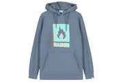 Hanon Crayon Shade Box logo Hooded Sweatshirt