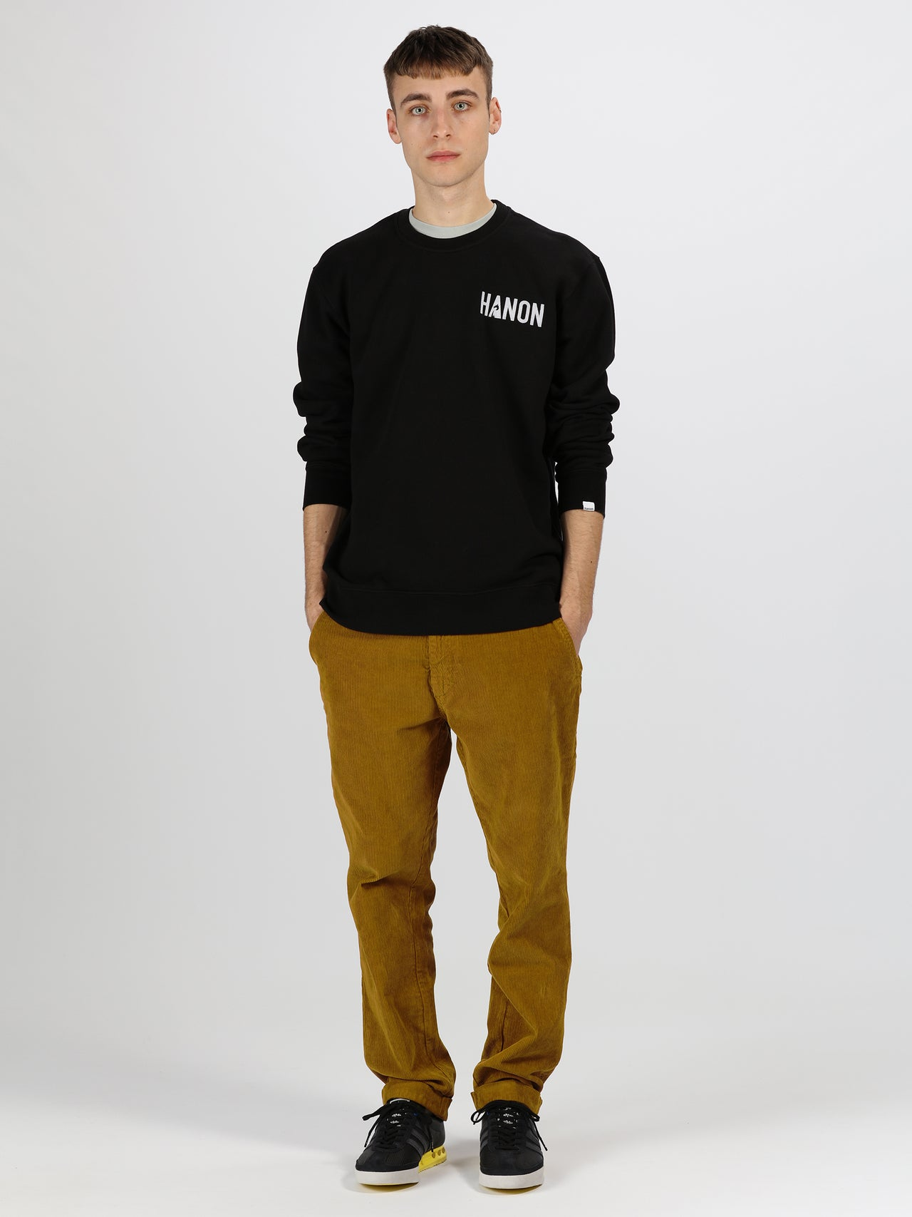 Hanon Burning Palm Flock Sweatshirt