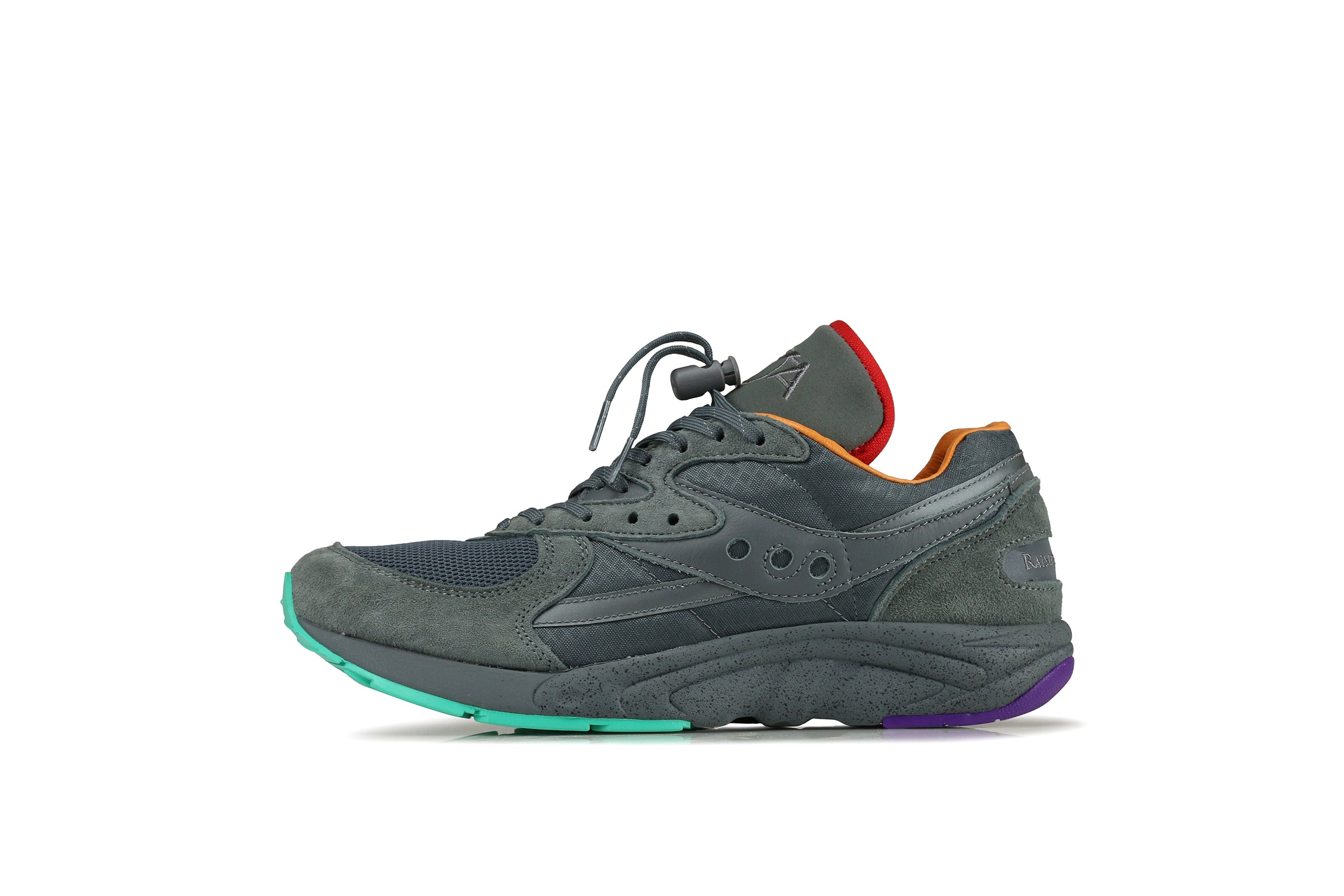 "Saucony Aya x Raised By Wolves ""Asphalt Jungle"""