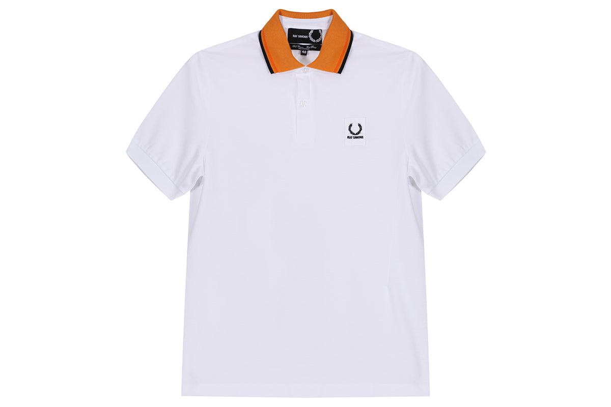 Fred Perry Contrast Collar Pique Shirt x Raf Simons