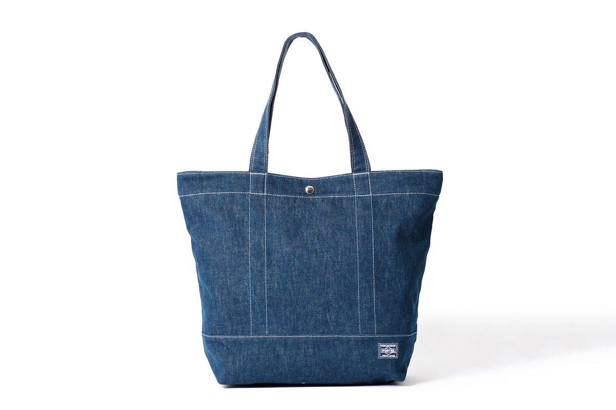 6f7f1600821f Head Porter Denim Tote Bag