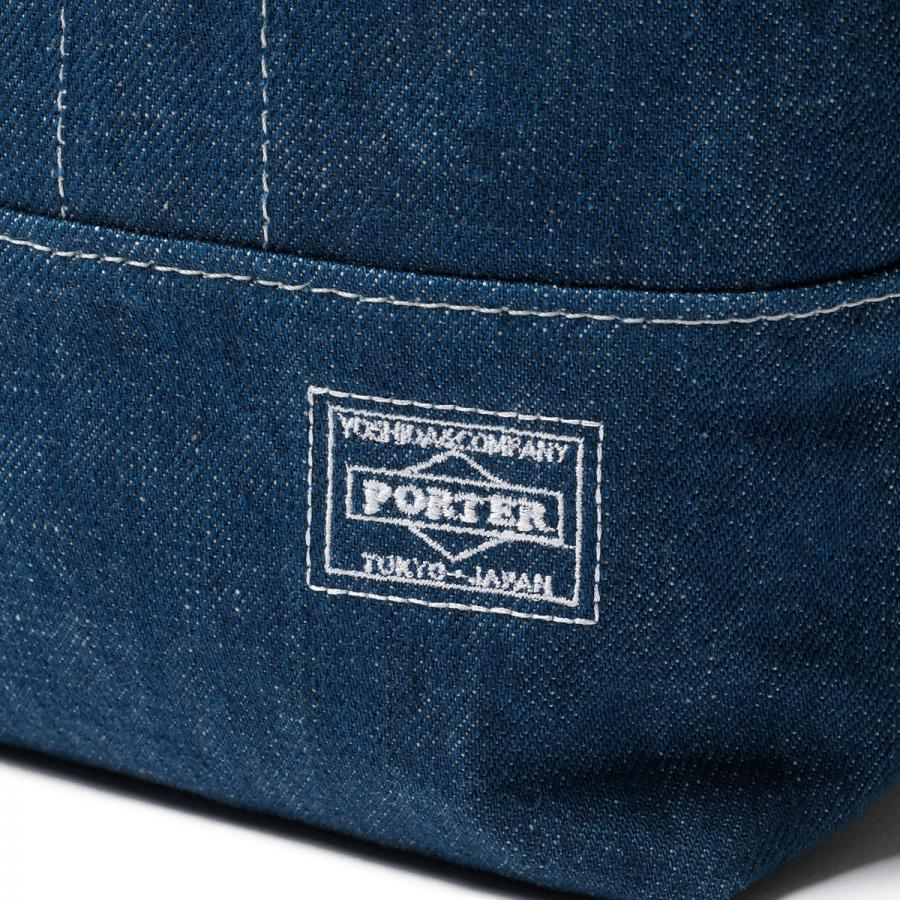 Head Porter Denim Tote Bag