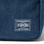Head Porter Denim Waist Bag