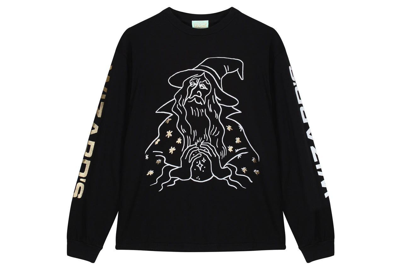 Aries Wizards LS Tee