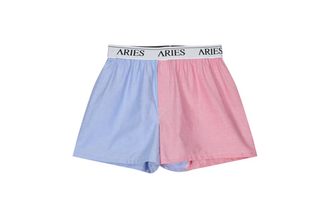 Aries Blue & Red Boxer Shorts