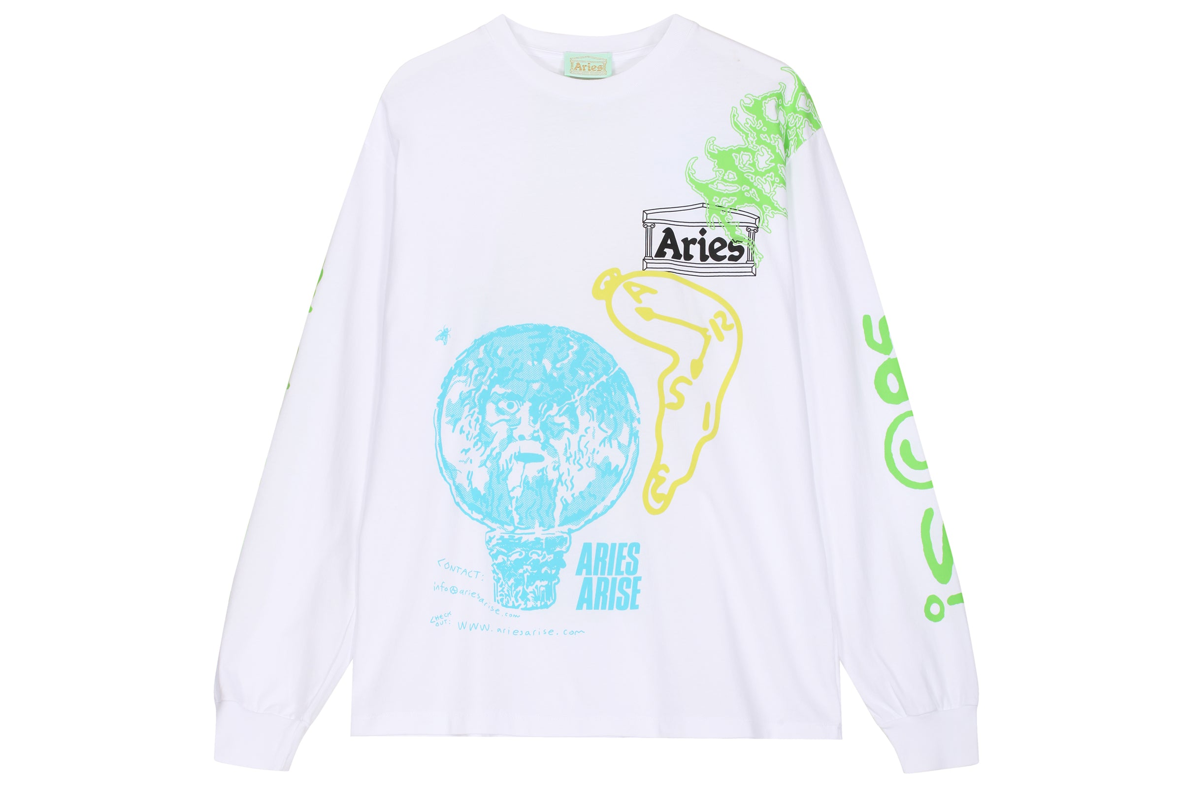 Aries French Monster LS Tee