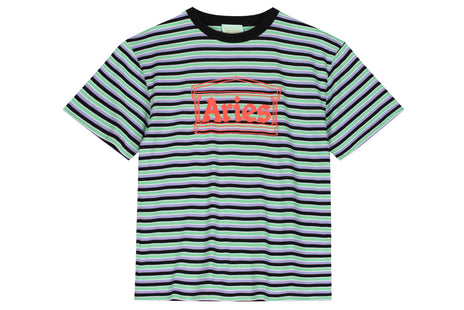 Aries Striped Temple Tee