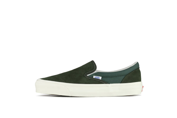 "Vans Vault UA OG Classic Slip-On LX ""Forest Night"""