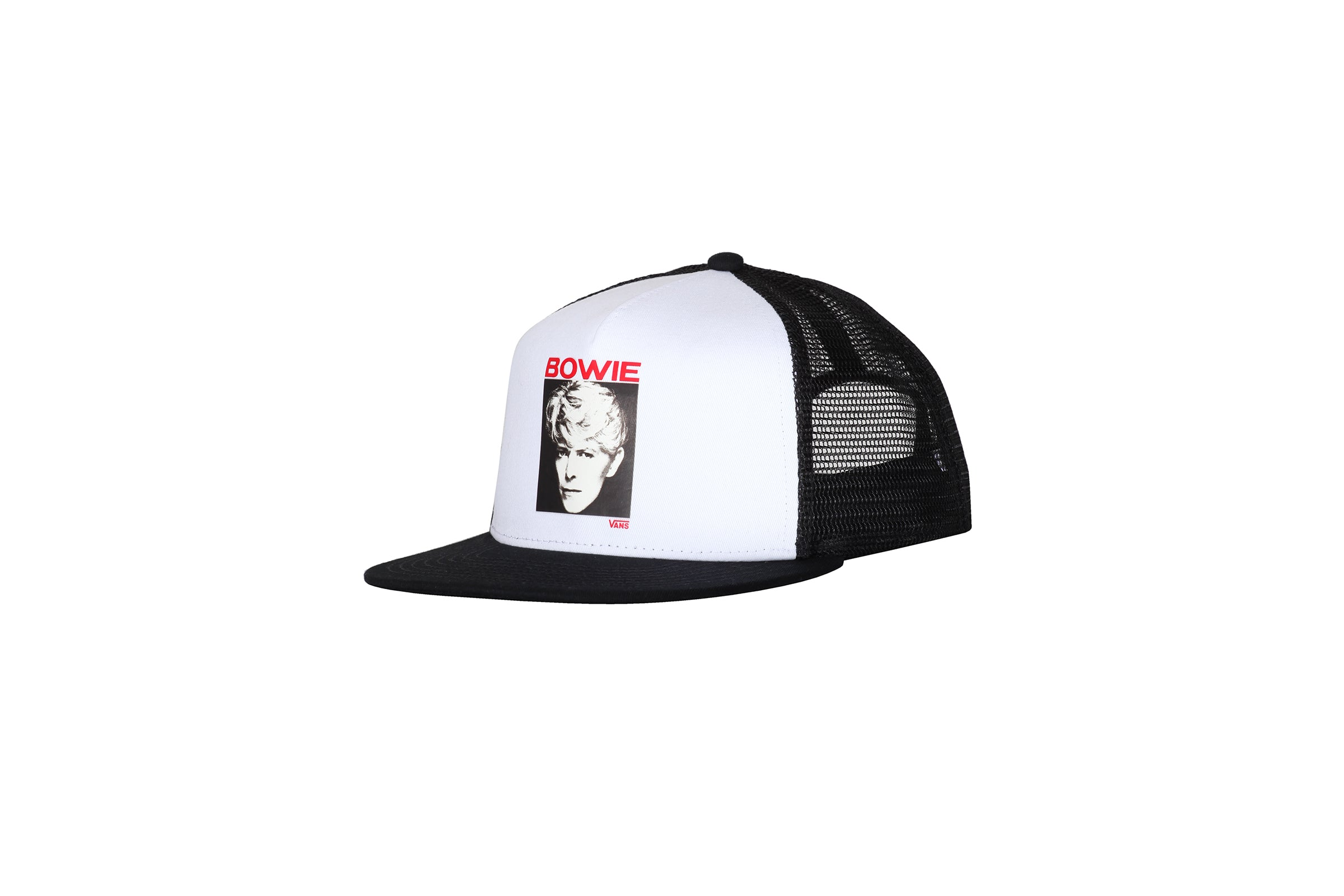 8a48ddd31d2 Vans Serious Moonlight Trucker Cap x David Bowie
