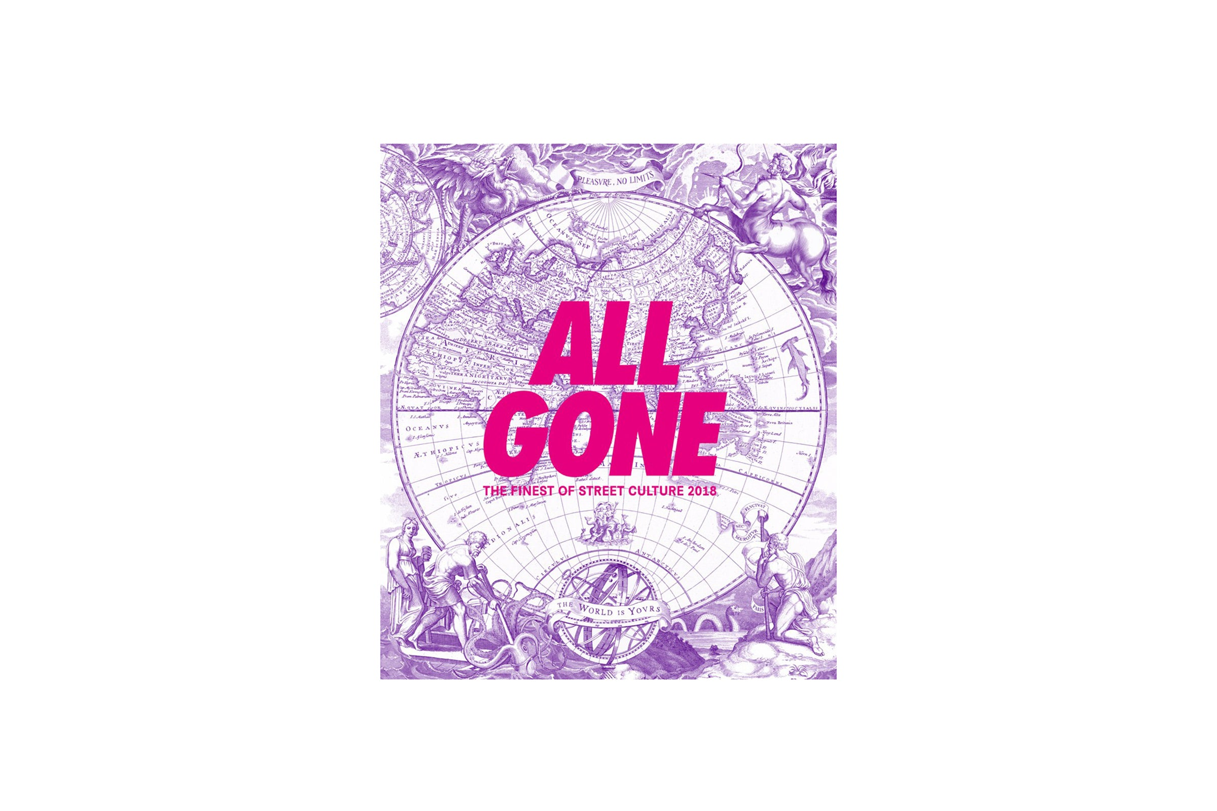 "All Gone Book 2018 ""Pink Matter Edition"""