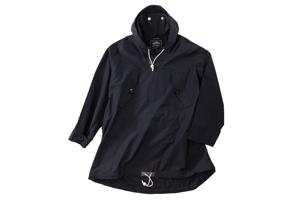"Nigel Cabourn Ventile Long Smock x Liam Gallagher ""Black"""