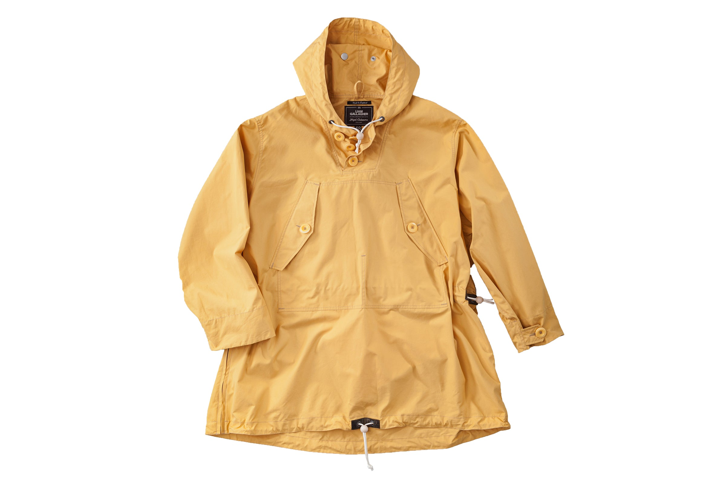 "Nigel Cabourn Ventile Long Smock x Liam Gallagher ""Survival Yellow"""