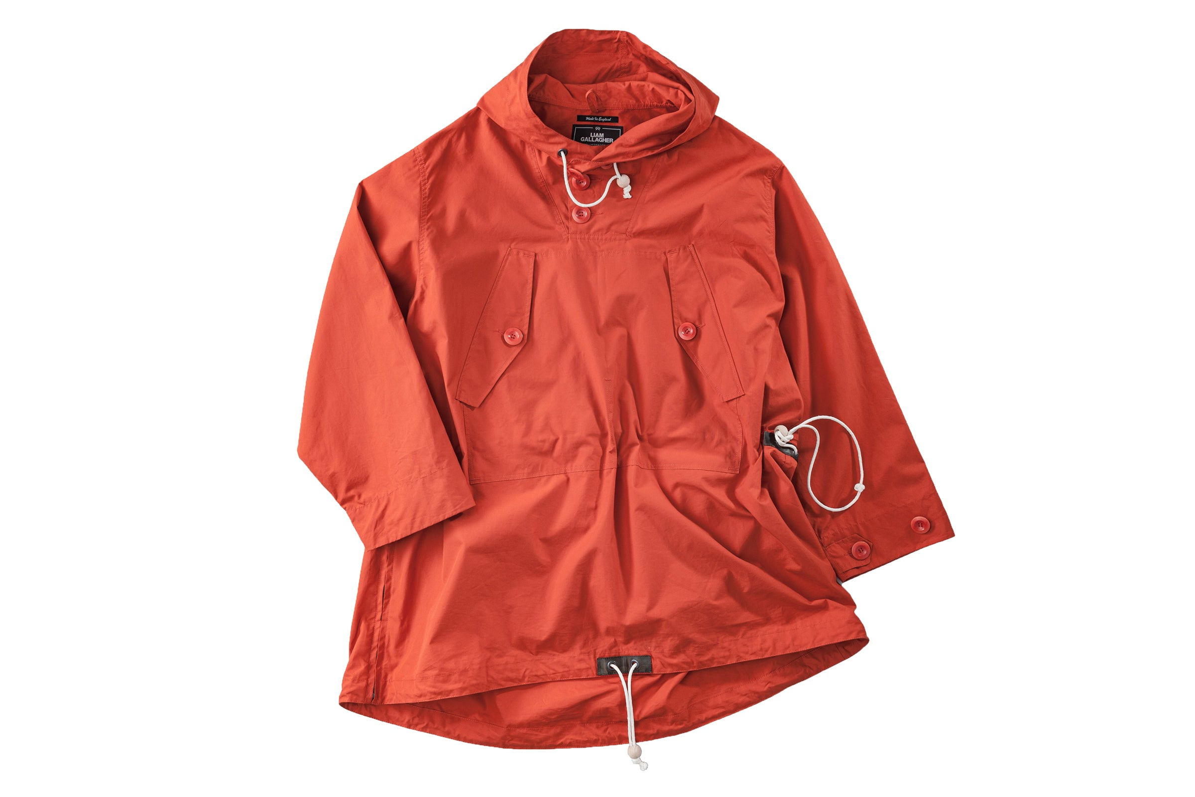 "Nigel Cabourn Ventile Long Smock x Liam Gallagher ""Vintage Orange"""