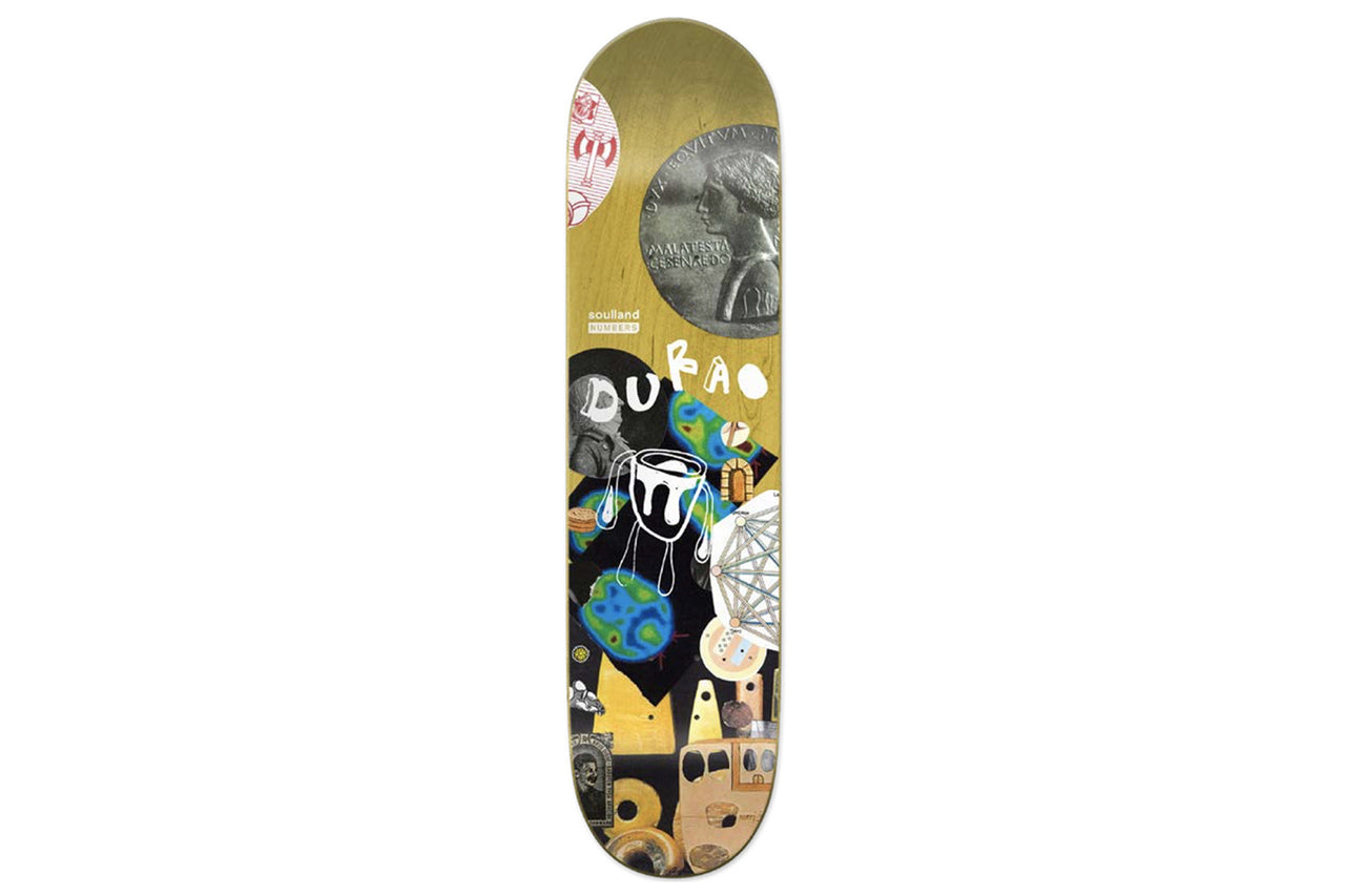 Soulland Skateboard Deck X Numbers X Antonio Durao by Soulland