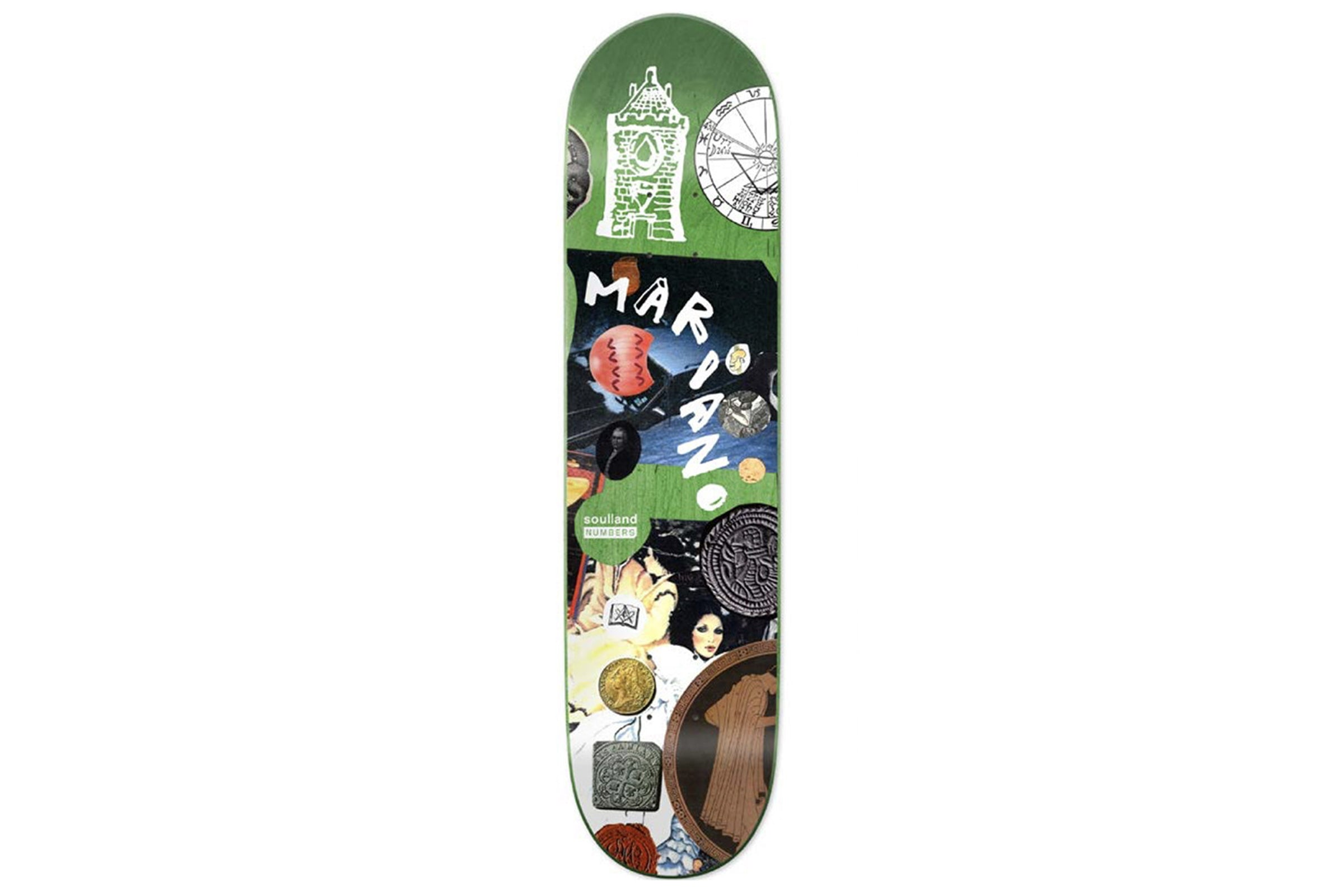 Soulland Skateboard Deck x Numbers x Guy Mariano