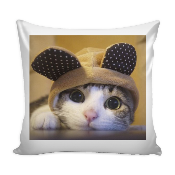 Cat in a Hat Pillow Cover