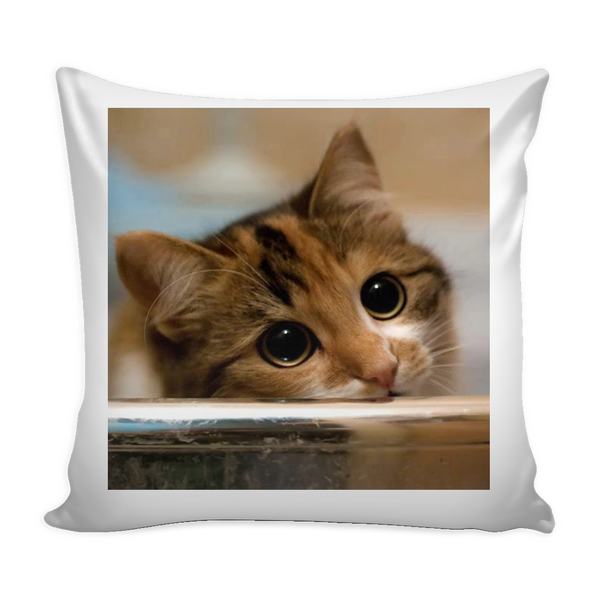Pretty Pls Cat Pillow Cover