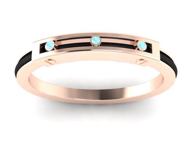 Rose Signature Collection -  Aquamarine