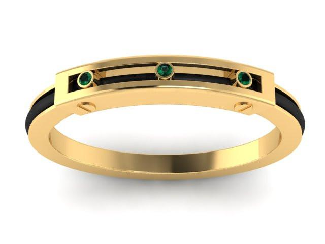 Yellow Signature Collection -  Emerald Sapphire