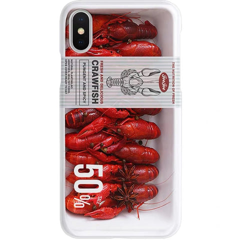 Upsell of Crawfish Phone Case