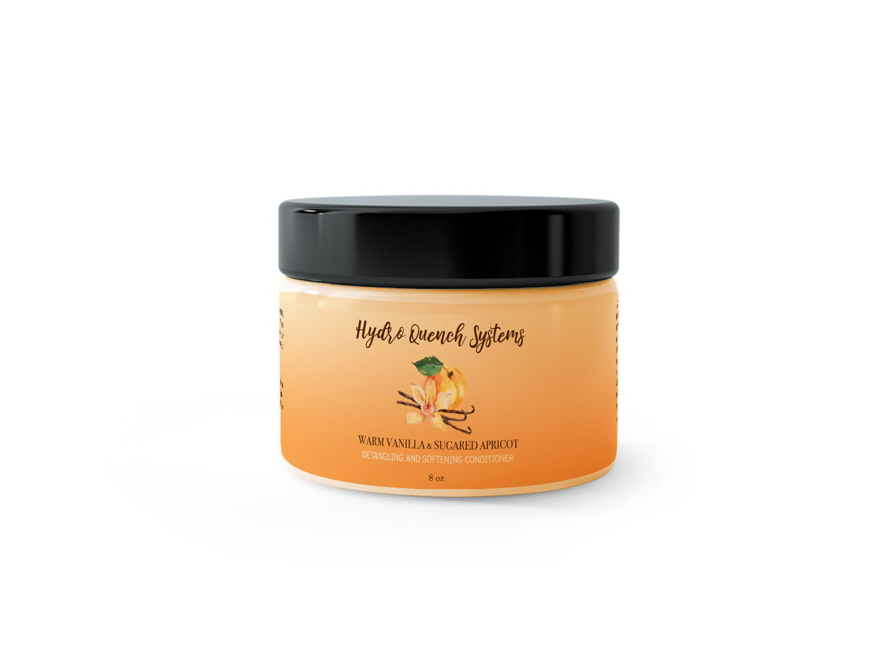 Warm Vanilla & Sugared Apricot Detangling and Softening Conditioner
