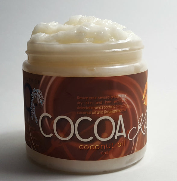 Cocoa Kisses Brazilian Chocolate Coconut Oil