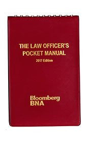 Law Officer's Pocket Manual: 2017