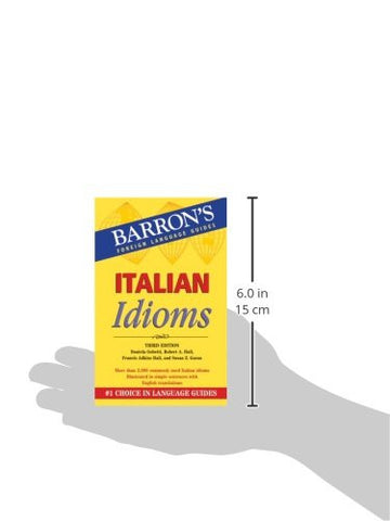 Italian Idioms (Barron's Foreign Language Guides)