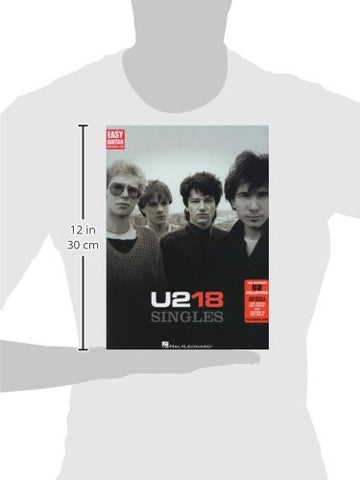 U2 - 18 Singles (Easy Guitar with Notes & Tab)