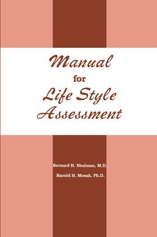 Manual For Life Style Assessment