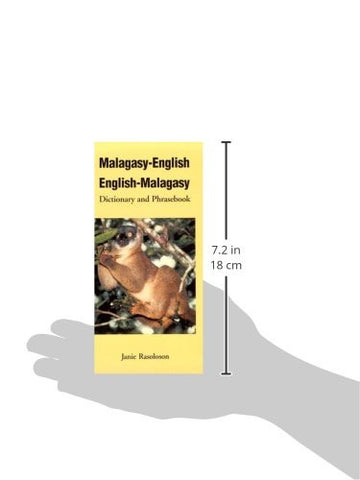 Malagasy-English, English-Malagasy: Dictionary and Phrasebook (Hippocrene Dictionary & Phrasebook)