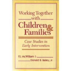 Working Together With Children and Families: Case Studies in Early Intervention