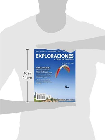 Exploraciones Curso Intermedio (with iLrn Printed Access Card) (World Languages)