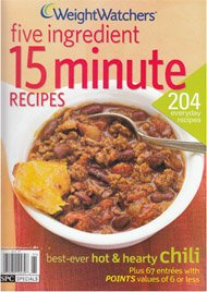 Weight Watchers Five Ingredient 15 Minute Recipes (204 Recipes - 67 entrees with a point value of 6