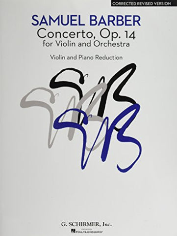 Concerto - Corrected Revised Version: Violin and Piano Reduction