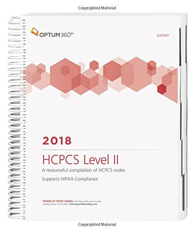 HCPCS Level II Expert 2018 (Spiral) (HCPCS Level II Expert (Spiral))