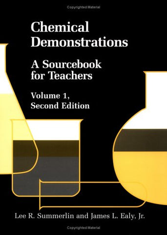 Chemical Demonstrations: A Sourcebook for Teachers Volume 1